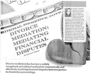 divorce mediation article